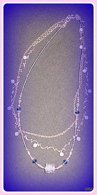 Triple Strand Jewelry - Save The Last Dance For Me by Whitey Martin