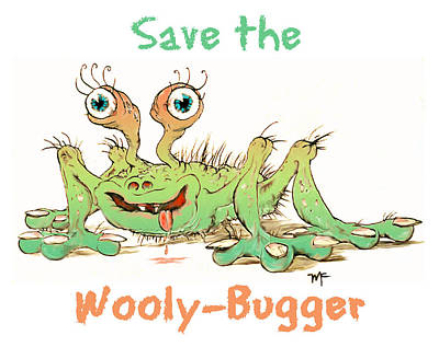 Photograph - Save The Wooly-bugger by Duane McCullough