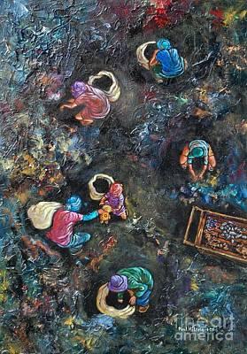 Pinoy Painting - Saving Grace by Paul Hilario