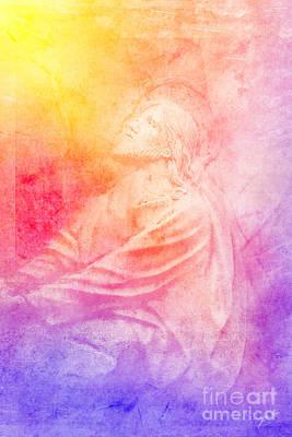 Savior  Art Print by Erika Weber