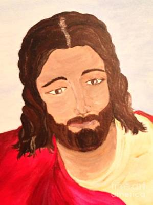 Painting - Savior by Michelle Bentham