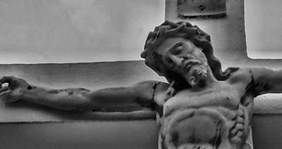 Crusifix Photograph - Savior Of New Orleans 1 by JW Cooper
