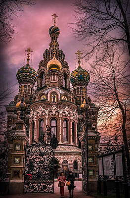 Photograph - Savior On The Spilled Blood by Ludmila Nayvelt