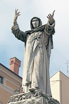 Confession Photograph - Savonarola by Dirk Wiersma
