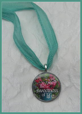 Jewelry - Savor The Sweetness Pendant by Carla Parris