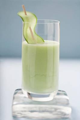 Savoury Cucumber Drink Art Print