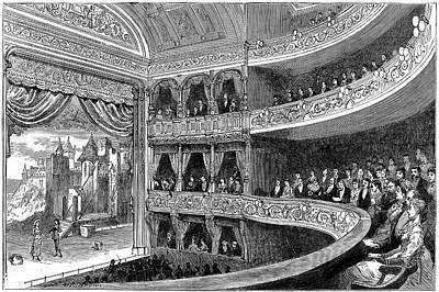 Savoy Theatre Art Print