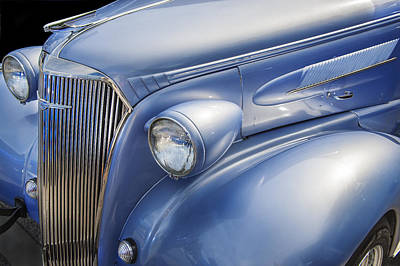 Blue Chevy Photograph - Saweet Chevy 1937 Chevrolet by Rich Franco