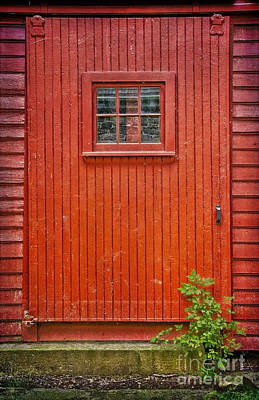 Photograph - Sawmill Door by Debra Fedchin
