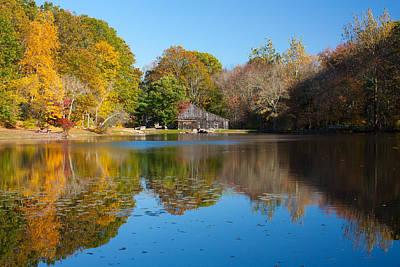 Photograph - Sawmill Pond - Ledyard Ct by Kirkodd Photography Of New England