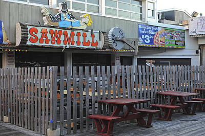 Photograph - Sawmill Cafe Seaside Park New Jersey by Terry DeLuco