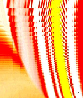 Digital Art - Sawtooth Abstract 2 by Will Borden
