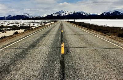 Sawtooth Highway Print by Benjamin Yeager