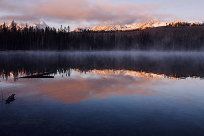 Photograph - Sawtooth Mountain Sunrise Stanley Idaho by Vishwanath Bhat