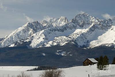 Sawtooth Mountains Art Print by William H. Mullins