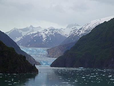 Photograph - Sawyer Glacier by Jacqueline  DiAnne Wasson