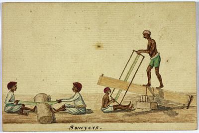 Sawyers Print by British Library