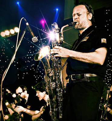 Photograph - Sax Solo by Ian Gledhill