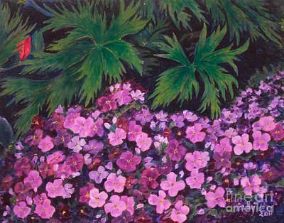 Painting - Aubrieta by Milly Tseng