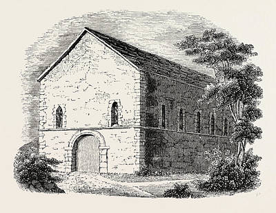 Saxon Chapel At Kingston Where The Kings Were Crowned Art Print by English School