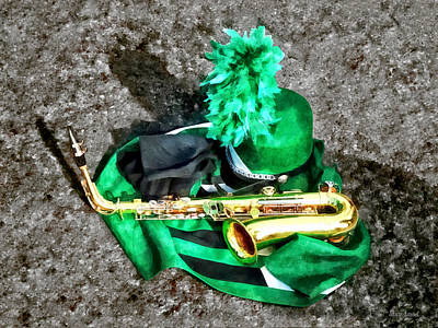 Photograph - Saxophone And Band Uniform by Susan Savad