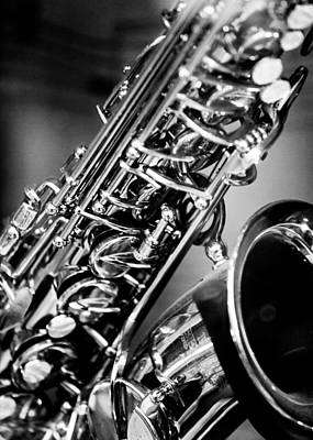 Jazz Royalty Free Images - Saxophone Royalty-Free Image by Hakon Soreide