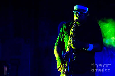 Saxophone Art Print by Jill Hyland