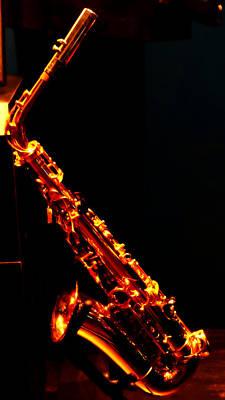 Saxophone On Display Original