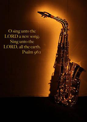 Saxophone Scripture Original