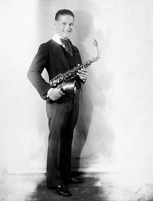 Saxophonist Photograph - Saxophonist, 20th Century by Granger