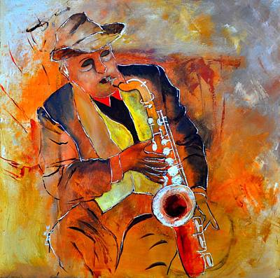 Amy Weiss - Saxplayer 88 by Pol Ledent