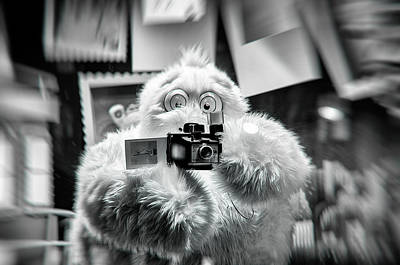 Abominable Snowman Photograph - Say Abominable by Scott Wyatt