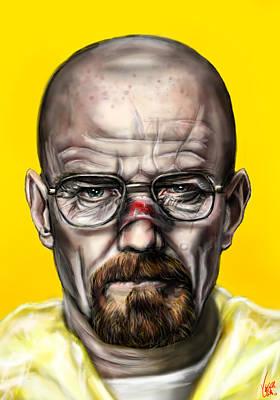 Breaking Bad Painting - Say My Name by Vinny John Usuriello