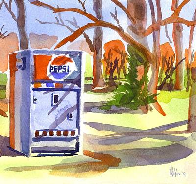 Iconic Painting - Soda In The Woods by Kip DeVore