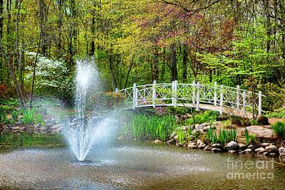 Nj Photograph - Sayen Garden Impression by Olivier Le Queinec