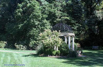 Photograph - Sayen Gardens Gazebo by Nance Larson