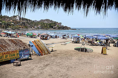 Photograph - Sayulita Mexico by Amy Fearn