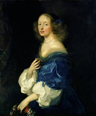 Sébastien Bourdon, French 1616-1671, Countess Ebba Sparre Art Print by Litz Collection