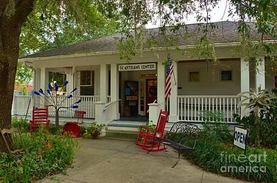 Photograph - South Carolina Artisans Center by Bob Sample