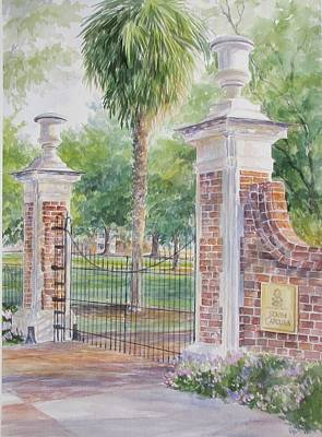 Painting - South Carolina. Horseshoe Sold by Gloria Turner