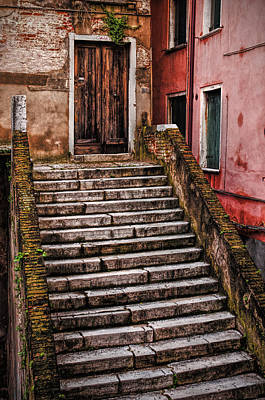 Photograph - Stairway by Mick Burkey