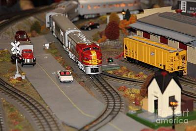 Scale Model Trains 5d21779 Art Print