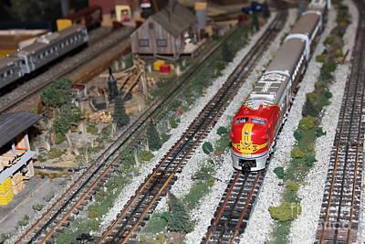 Scale Model Trains 5d21810 Art Print