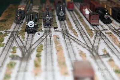 Scale Model Trains 5d21820 Art Print