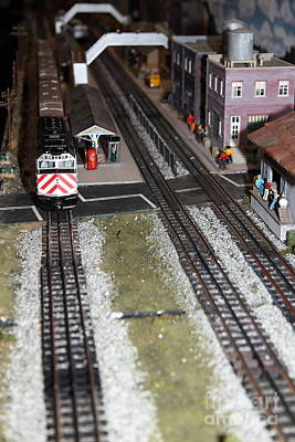 Scale Model Trains 5d21831 Art Print