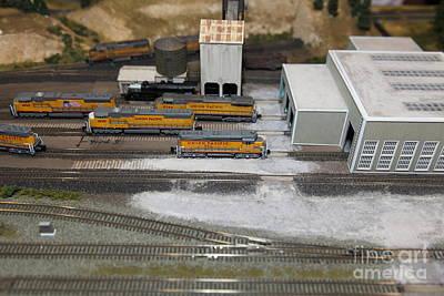 Scale Model Trains 5d21850 Art Print