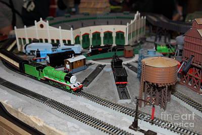 Scale Model Trains 5d21875 Art Print