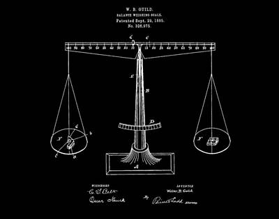 Scale Digital Art - Scale Patent by Dan Sproul