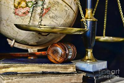 Law Office Photograph - Scales Of Justice by Paul Ward