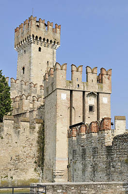Photograph - Scaliger Castle Castello Scaligero Sirmione Italy by Matthias Hauser